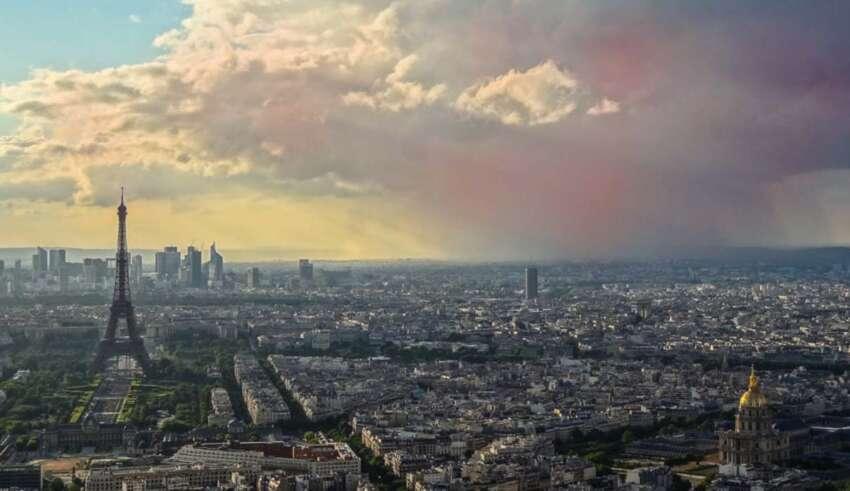 nube radioactiva europa 850x491 - Detectan una nube radioactiva en Europa días después de la aparición de un 'hongo nuclear' cerca de Chernóbil