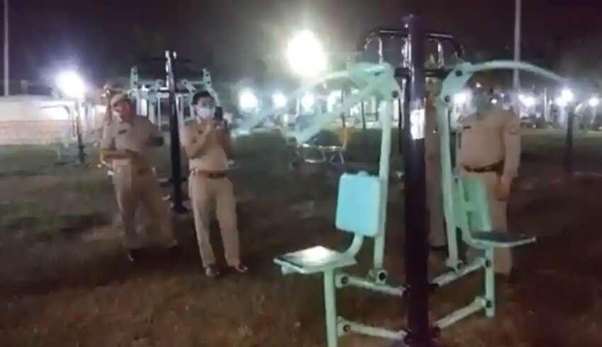 policia india maquina gimnasio 850x491 - La policía india investiga una máquina de gimnasio embrujada que se mueve por sí sola