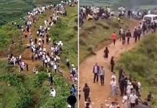 grunido dragon china 320x220 - Miles de personas escuchan el gruñido de un dragón en una montaña de China
