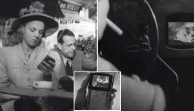 pelicula 1947 telefonos inteligentes 384x220 - Una película de 1947 predijo los teléfonos inteligentes y el impacto de las nuevas tecnologías