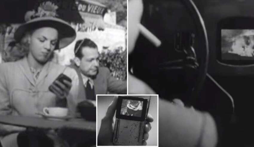 pelicula 1947 telefonos inteligentes 850x491 - Una película de 1947 predijo los teléfonos inteligentes y el impacto de las nuevas tecnologías