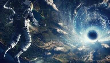 agujeros gusano 384x220 - Viajar a través del espacio-tiempo es posible: físicos dicen que se pueden crear agujeros de gusano humanamente atravesables