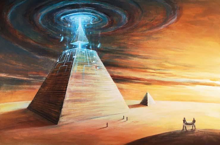 elon musk extraterrestres piramides egipto - Elon Musk afirma que los extraterrestres construyeron las Pirámides de Egipto