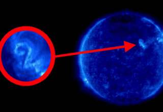 numero dos sol 320x220 - Una imagen de la NASA muestra el numero dos en la superficie del Sol, ¿mensaje extraterrestre?