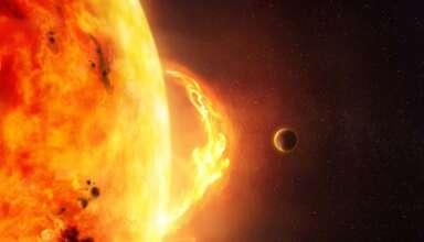 peligrosa tormenta solar 384x220 - La NOAA advierte de la llegada de una peligrosa tormenta solar este jueves