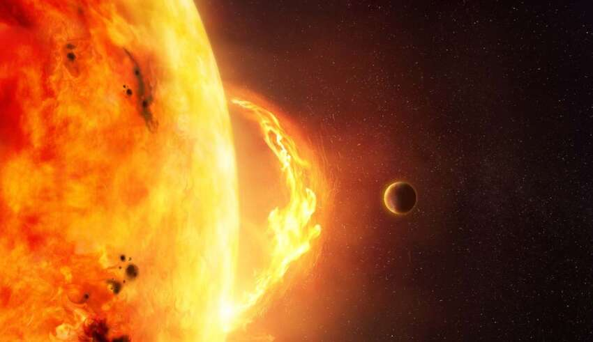 peligrosa tormenta solar 850x491 - La NOAA advierte de la llegada de una peligrosa tormenta solar este jueves