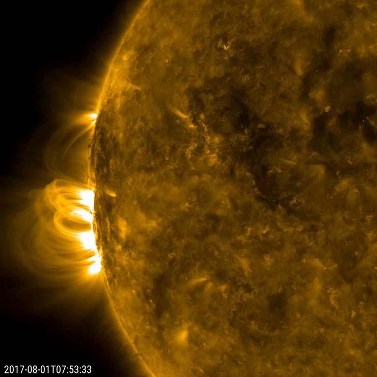 peligrosa tormenta solar jueves - La NOAA advierte de la llegada de una peligrosa tormenta solar este jueves