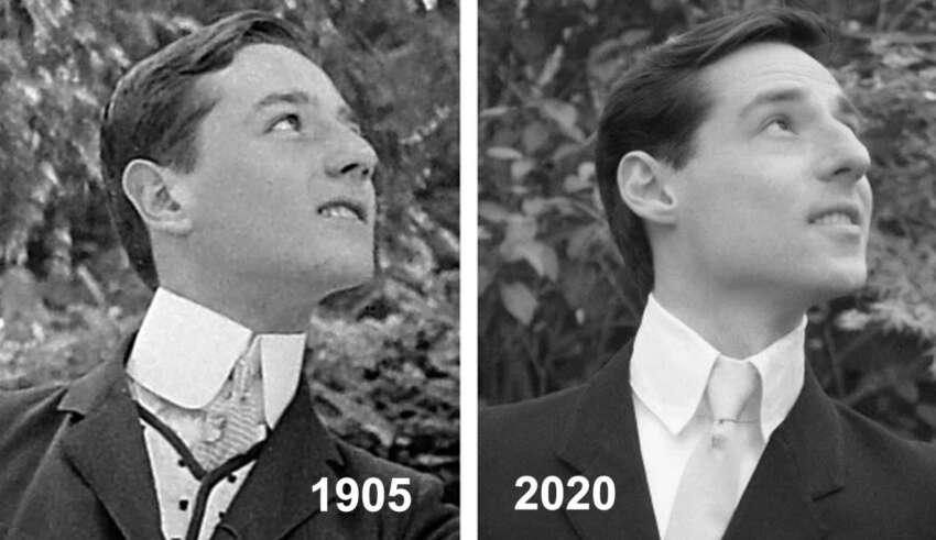 vida pasada doppelganger 850x491 - Un hombre descubre quién fue en una vida pasada después de encontrar a su doppelgänger en una foto de 1905