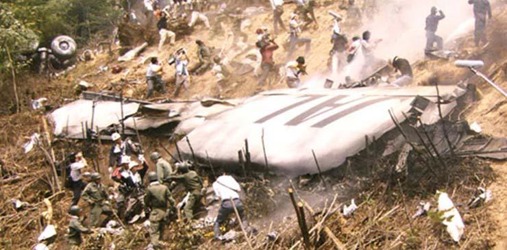 vuelo japon radares - Un avión que se estrelló en Japón aparece misteriosamente en los radares 35 añosdespués