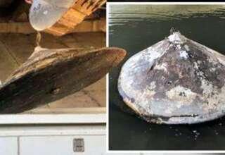 restos ovni rio 320x220 - Encuentran los restos de un OVNI en un río de Estados Unidos