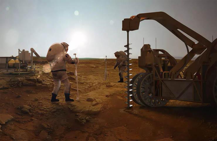 vida subterranea en marte - Científicos dicen que puede haber vida subterránea en Marte, ¿inminente revelación extraterrestre?