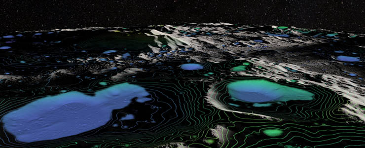 agua en la luna - La NASA confirma que hay abundante agua en la Luna y la existencia de vida extraterrestre
