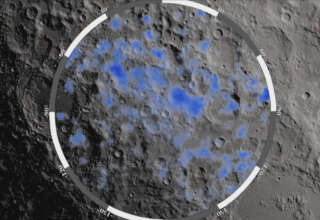 agua luna 320x220 - La NASA confirma que hay abundante agua en la Luna y la existencia de vida extraterrestre