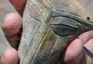 mascara extraterrestre 320x220 - Arqueólogos hallan una máscara extraterrestre de hace 6.000 años en Bulgaria