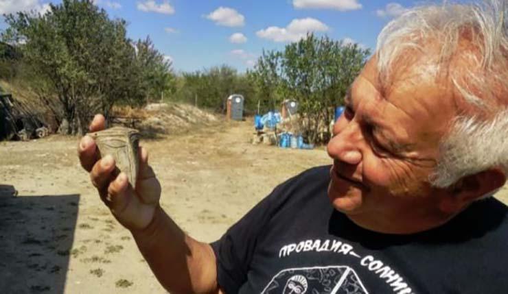 mascara extraterrestre 6000 anos - Arqueólogos hallan una máscara extraterrestre de hace 6.000 años en Bulgaria