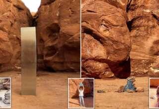 monolito utah desaparece 320x220 - El misterioso monolito de Utah desaparece repentinamente y aparecen estructuras similares en otras partes del mundo