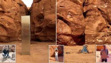 monolito utah desaparece 384x220 - El misterioso monolito de Utah desaparece repentinamente y aparecen estructuras similares en otras partes del mundo