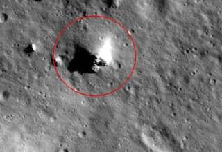 piramide luna 320x220 - Imágenes de la NASA muestran con toda claridad una pirámide en la Luna