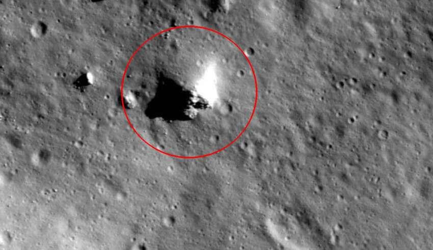 piramide luna 850x491 - Imágenes de la NASA muestran con toda claridad una pirámide en la Luna