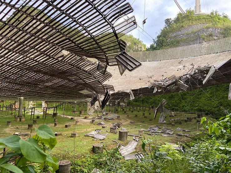radiotelescopio arecibo misterioso accidente - El radiotelescopio de Arecibo vuelve a sufrir un misterioso accidente, ¿qué quieren ocultar?