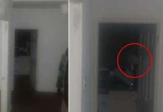 fantasma mirandolo fijamente 320x220 - Un hombre huye de su casa después escuchar extraños ruidos y fotografiar un fantasma mirándolo fijamente