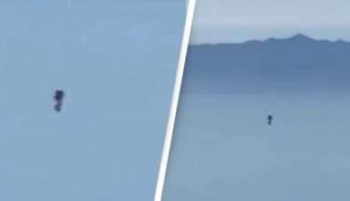 humanoide volador los angeles 384x220 - Un piloto graba un humanoide volador sobre Los Ángeles