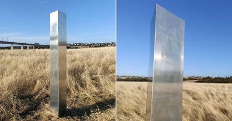nuevo monolito australia - Aparece un nuevo monolito en Australia que tiene coordenadas crípticas de ubicaciones de todo el mundo