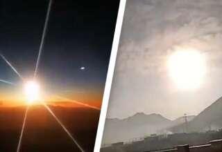 objeto volador no identificado llamas 320x220 - Un enorme objeto volador no identificado envuelto en llamas se estrella en China y nadie sabe lo que es