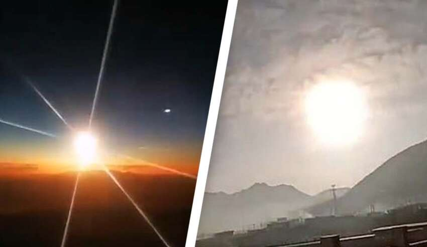 objeto volador no identificado llamas 850x491 - Un enorme objeto volador no identificado envuelto en llamas se estrella en China y nadie sabe lo que es