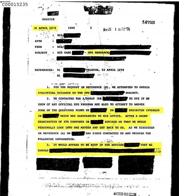 cia ovnis militares extraterrestres - La CIA desclasifica inesperadamente 3 mil documentos sobre ovnis que incluyen batallas entre militares y extraterrestres