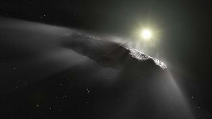 extraterrestres 2017 - El principal astrónomo de Harvard demuestra que los extraterrestres nos visitaron en 2017, y regresarán