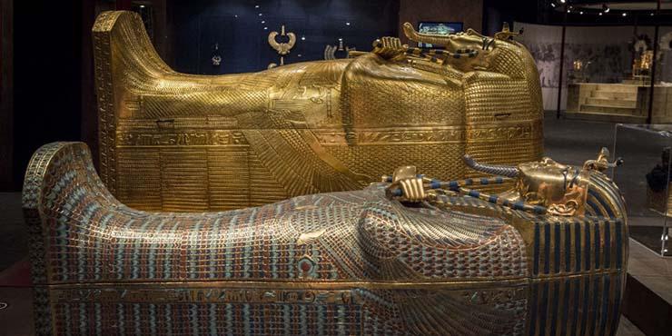 maldicion tutankamon - Maldición de Tutankamón 2021: Anuncian que por primera vez se trasladará el sarcófago del faraón egipcio