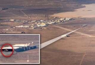 ovni triangular area 51 320x220 - Un piloto fotografía un OVNI triangular en el Área 51