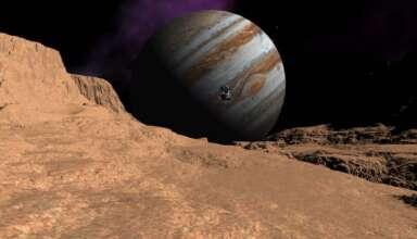 senal de radio ganimedes 384x220 - Una sonda espacial de la NASA detecta una señal de radio extraterrestre procedente de Ganímedes