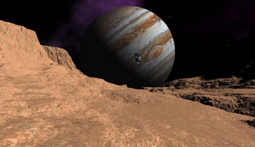 senal de radio ganimedes 850x491 - Una sonda espacial de la NASA detecta una señal de radio extraterrestre procedente de Ganímedes