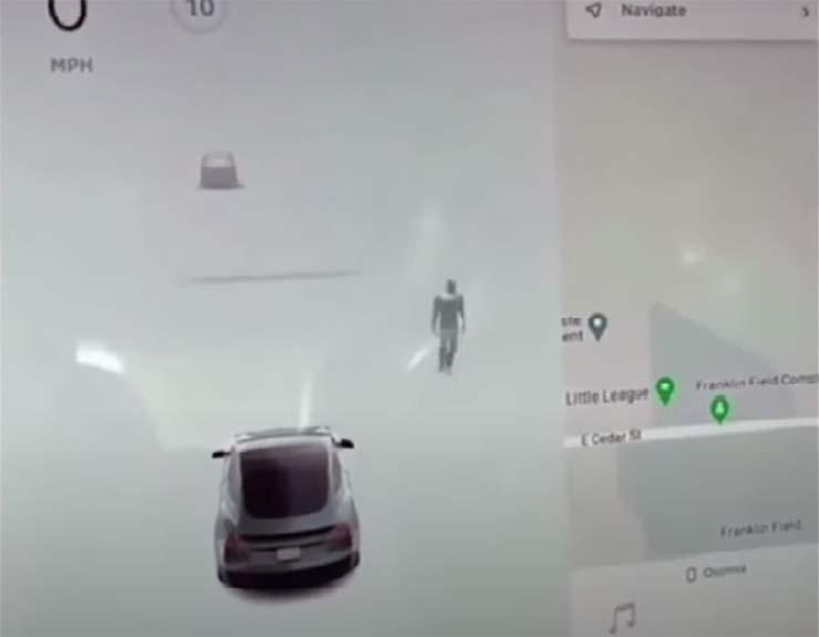 tesla fantasma en cementerio - El piloto automático de un coche Tesla detecta un fantasma en un cementerio