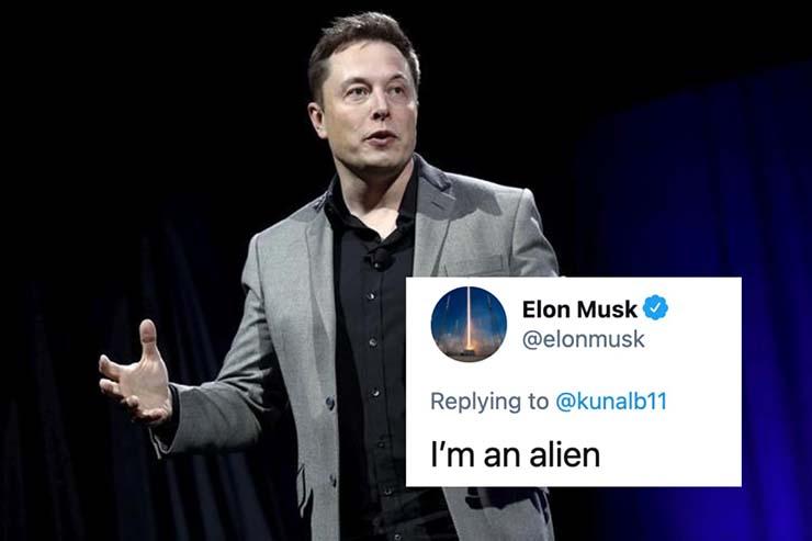 elon musk confirma extraterrestre - Elon Musk confirma que es un extraterrestre