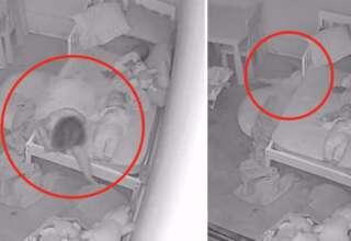fantasma arrastrando hija 320x220 - Padres aterrorizados al descubrir un fantasma arrastrando a su hija debajo de la cama