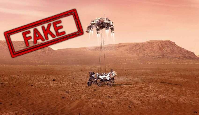 perseverance en marte 850x491 - ¿El aterrizaje de Perseverance en Marte ha sido un engaño de la NASA?