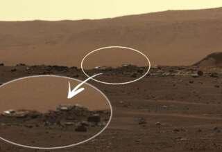 perseverance objetos marte 320x220 - El rover Perseverance encuentra extraños objetos en Marte, y no son de origen natural