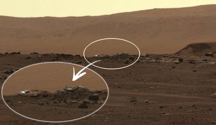 perseverance objetos marte 850x491 - El rover Perseverance encuentra extraños objetos en Marte, y no son de origen natural