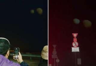 planetas dubai 320x220 - Decenas de personas ven dos gigantescos y misteriosos planetas gemelos en el cielo de Dubái