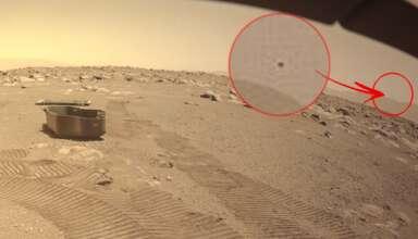 elon musk ovni marte 384x220 - Elon Musk publica una imagen en Twitter que muestra un OVNI en Marte