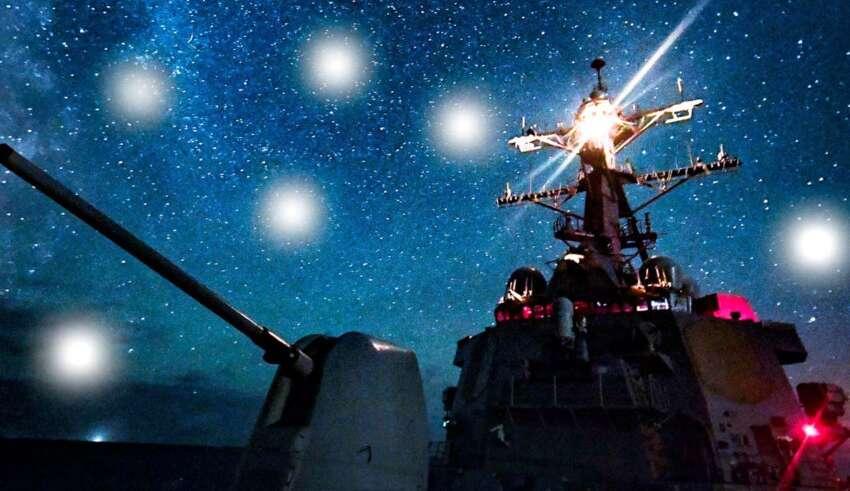 ovnis destructores marina 850x491 - Docenas de ovnis persiguen destructores de la Marina de EE.UU. en alta mar