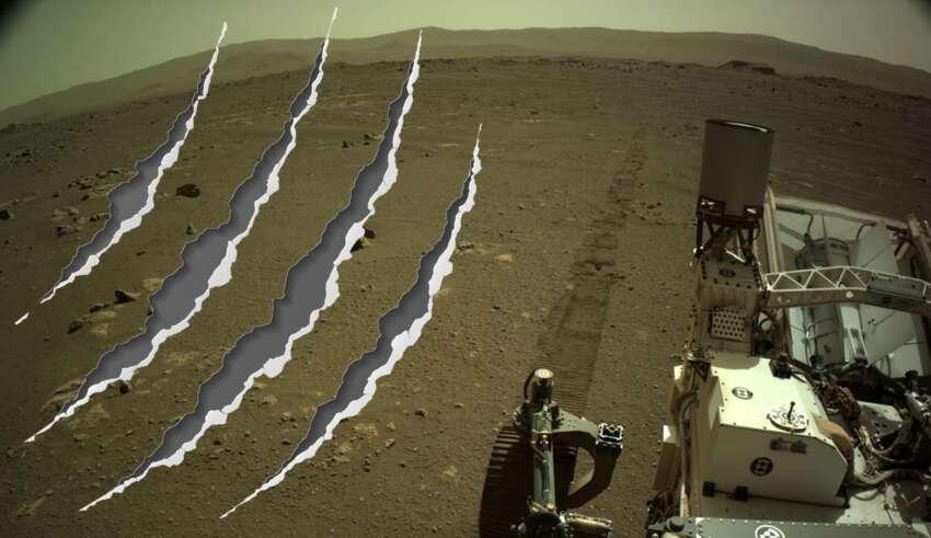 perseverance rasguno agudo 850x491 - Perseverance registra un inquietante y misterioso sonido de un 'rasguño agudo' en Marte, y la NASA no sabe lo que es