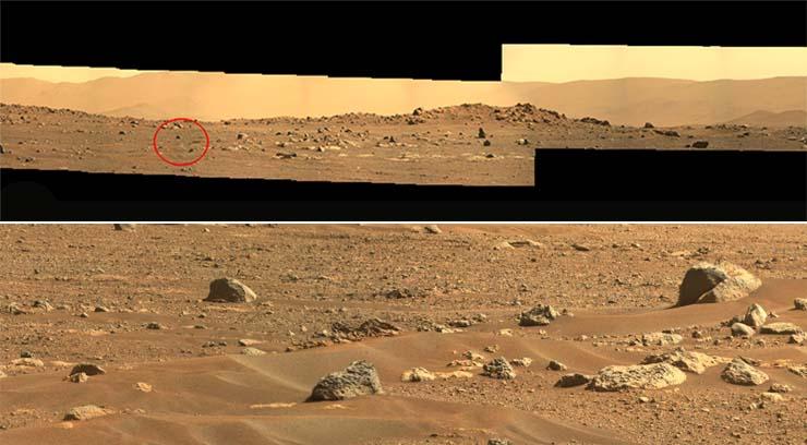 rover perseverance pinguino marte - Evidencia definitiva: El rover Perseverance encuentra un pingüino en Marte