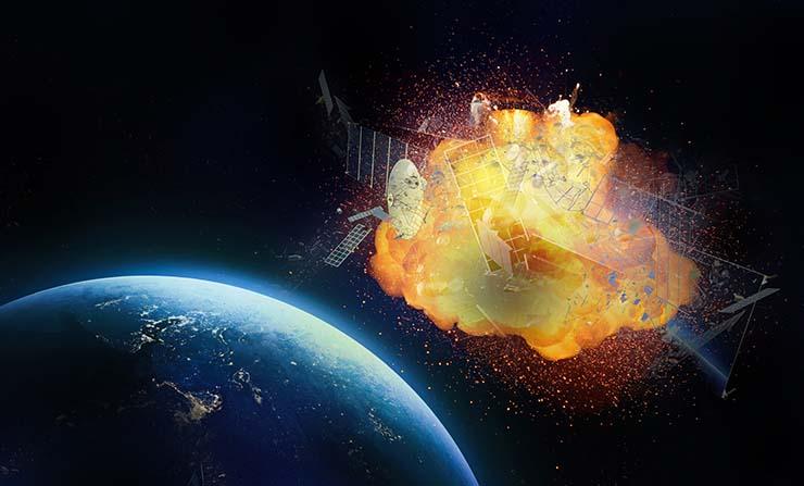 satelites misteriosas circunstancias - Dos satélites explotan en misteriosas circunstancias a la vez