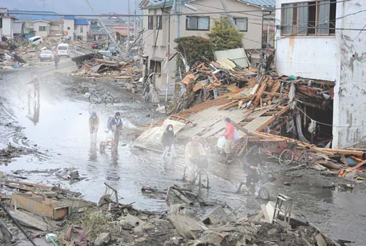 tsunami de japon fantasmas - 10 años después del tsunami de Japón: Las personas aseguran ver fantasmas sin cabeza y espíritus desmembrados