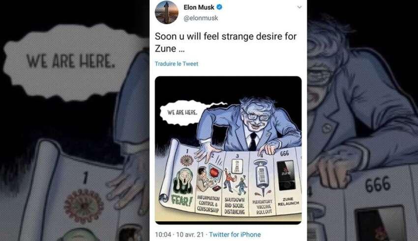 elon musk bill gates 850x491 - Elon Musk acusa en un tuit a Bill Gates de utilizar las vacunas para controlar a la población