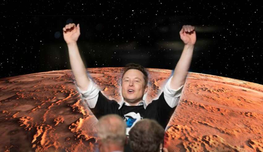 musk emperador marte 850x491 - Elon Musk se autoproclama emperador de Marte